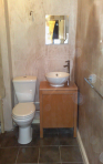 250 x 400 loo & basin after
